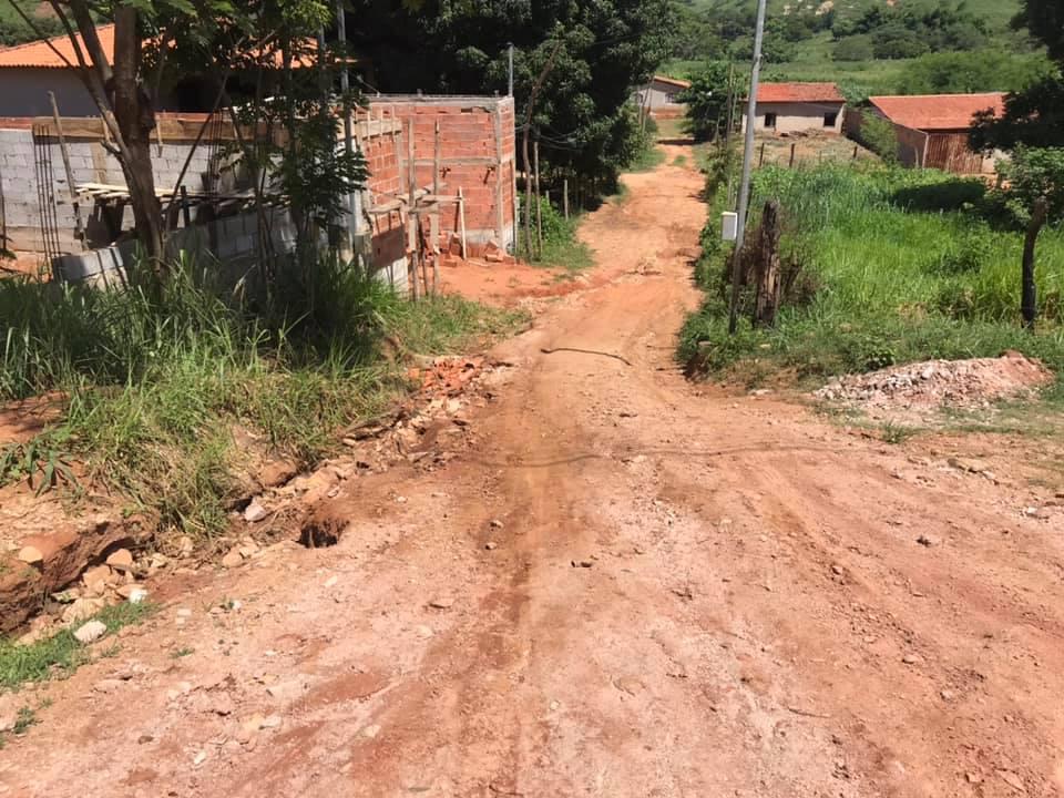 Rua de acesso lateral ao Bairro Novo pelo asfalto receberá pavimentação. Foto: Divulgação Prefeitura Municipal de Jampruca
