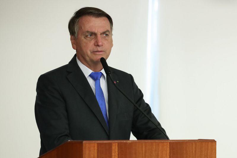 Na imagem, presidente Jair Bolsonaro (sem partido) - (Foto: Marcos Corrêa/PR - 06.04.2021)