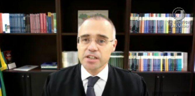 O ministro da AGU, André Mendonça - (Foto: Youtube/Reprodução 07.04.2021)
