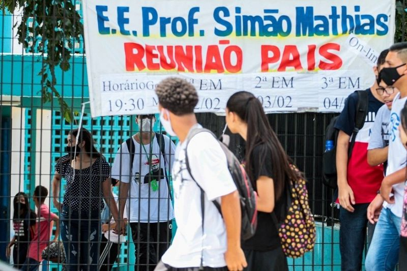 Utilização do dinheiro deve ser decidida pela direção das escolas e representantes das APMs - (Foto: PETER LEONE/A7 PRESS/ESTADÃO CONTEÚDO - 07.04.21)