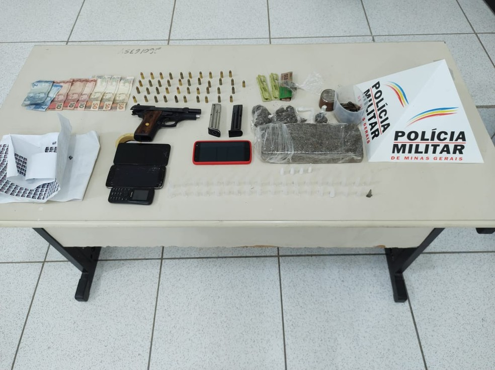Três pessoas são presas por tráfico de drogas em Guanhães e São João Evangelista