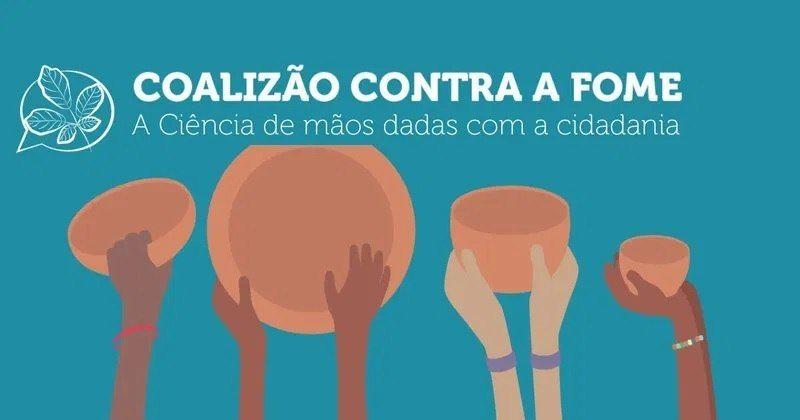 Cientistas fazem a campanha 'Coalização contra a Fome' para incentivar a doação de alimentos - (Foto: Reprodução)