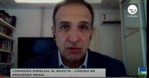 Deputado Hugo Leal espera que as sugestões das entidades contribuam para aprimorar o relatório-geral - (Foto: Reprodução/Youtube)