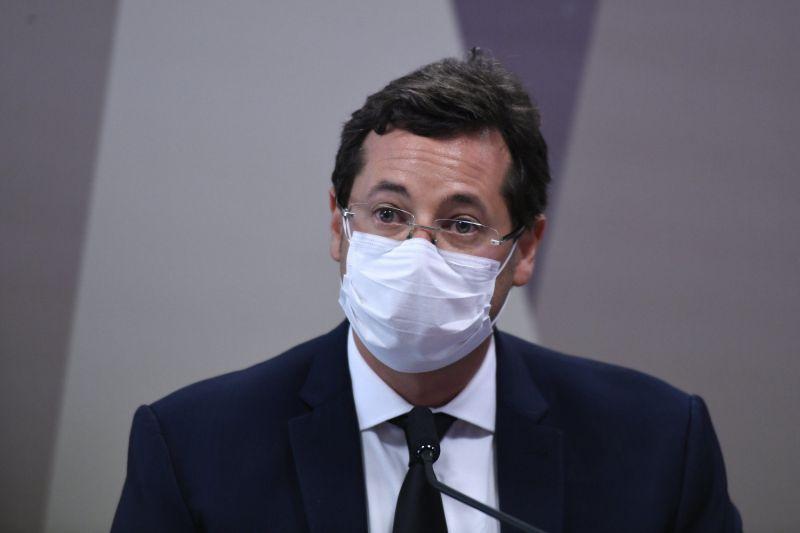 Wajngarten defende falas de Bolsonaro - (Foto: Edilson Rodrigues/Agência Senado - 12.05.2021)