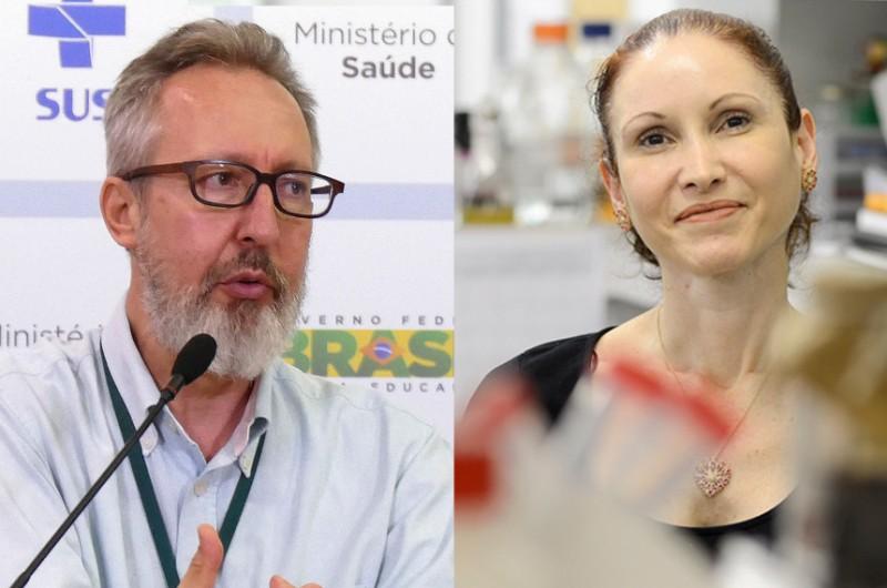 Médico sanitarista Maierovitch e microbiologista Natalia Pasternak falarão sobre enfrentamento à pandemia - Elza Fiuza/Agência Brasil e Gute Garbelotto/CMSP
