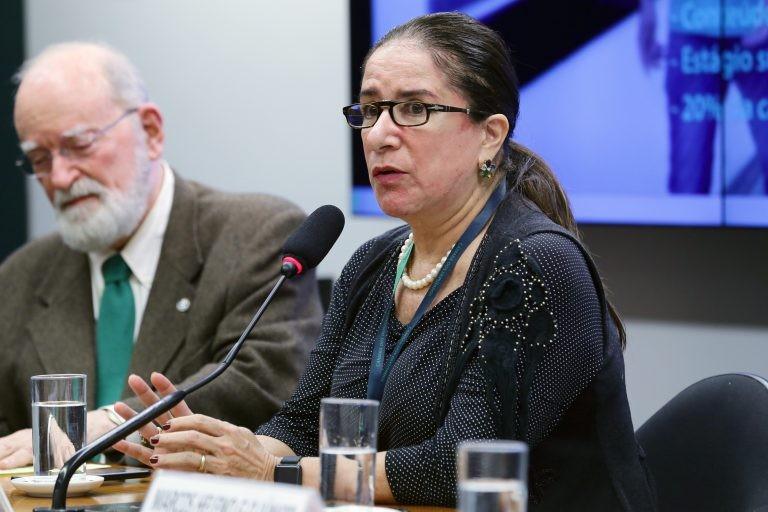 Elizabeth Guedes (foto de arquivo): Como terceirizar o ato de ensinar? - (Foto: Michel Jesus/Câmara dos Deputados)