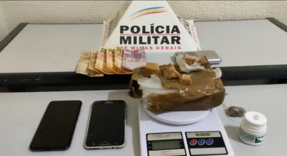 As drogas foram apreendidas foto: divulgação