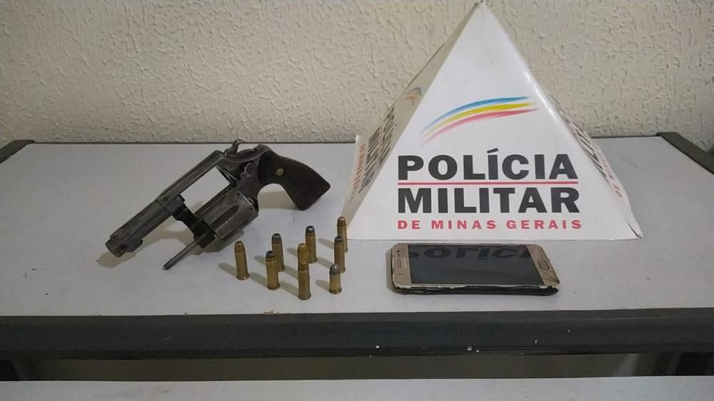 A arma jogada no canal foi apreendida pelos militares foto: divulgação