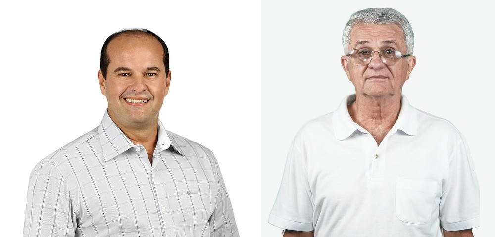 André Merlo e DR Luciano vão para o segundo turno no dia 29 foto: imagem divulgação