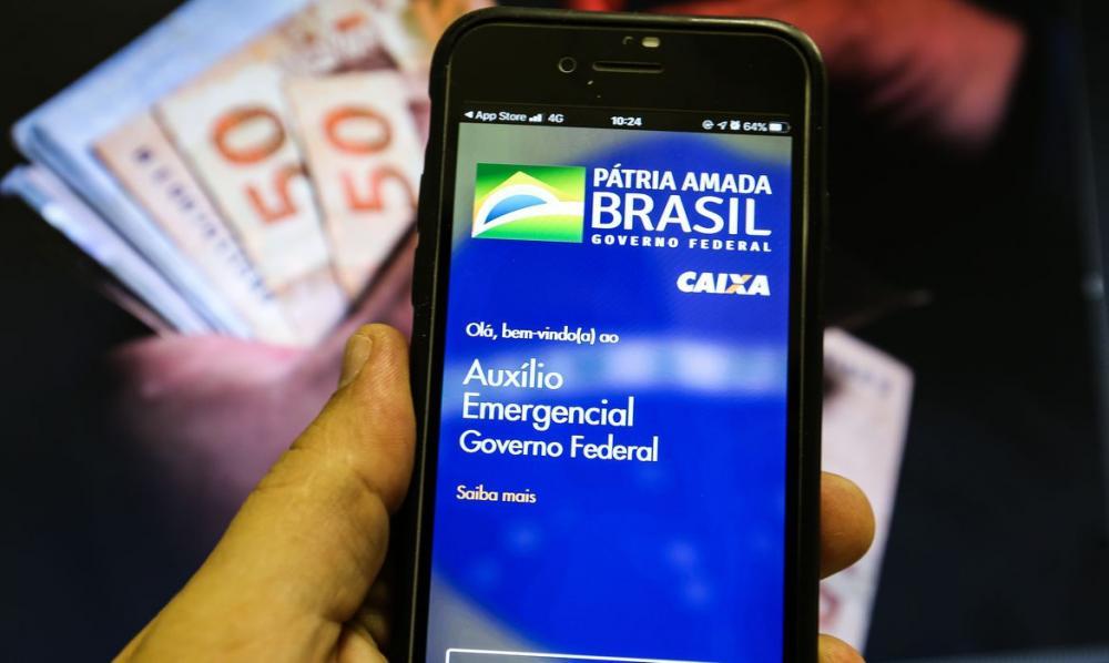Nascidos em dezembro já recebem hoje o auxílio emergencial foto: divulgação Agência Brasil