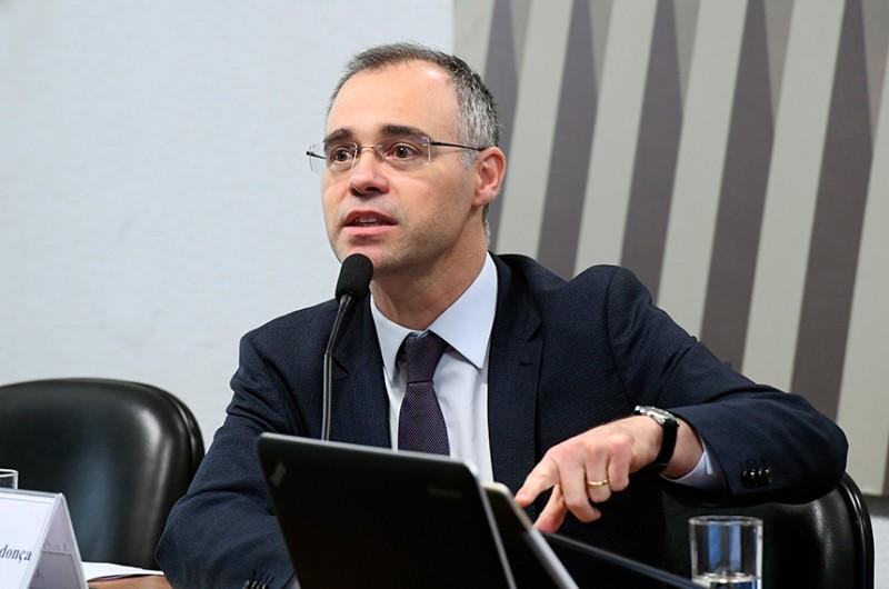 O advogado-geral da União foi indicado por Bolsonaro a uma vaga no Supremo Tribunal Federal (STF) - Marcos Oliveira/Agência Senado